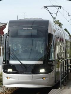 富山ライトレールTRL0600形車両写真