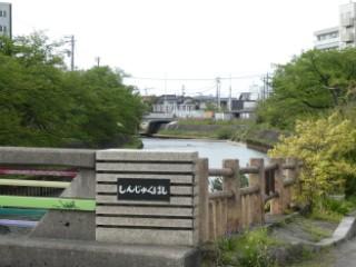 新宿橋・八田橋写真