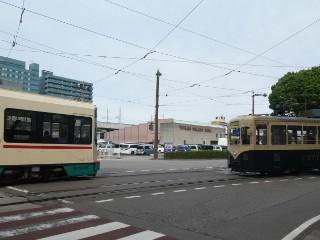 富山地方鉄道・デ7000形、デ8000形車両写真