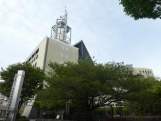 富山市庁舎写真