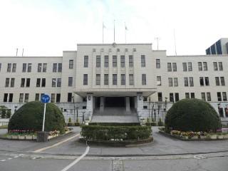 富山県庁舎本館写真