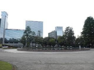 県庁前公園・噴水写真