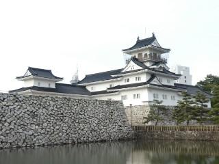 富山城写真