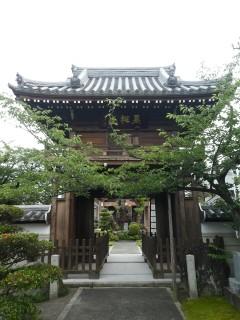 斉年寺・山門写真