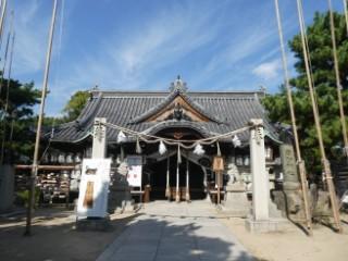 高砂神社拝殿写真