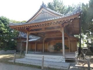 高砂神社能舞台写真