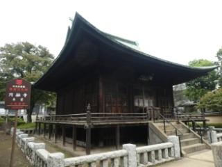 円融寺釈迦堂写真