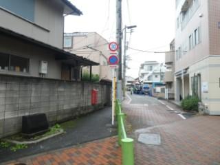 大岡山コミュニティ道路写真