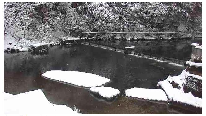 湯原温泉の風景1217