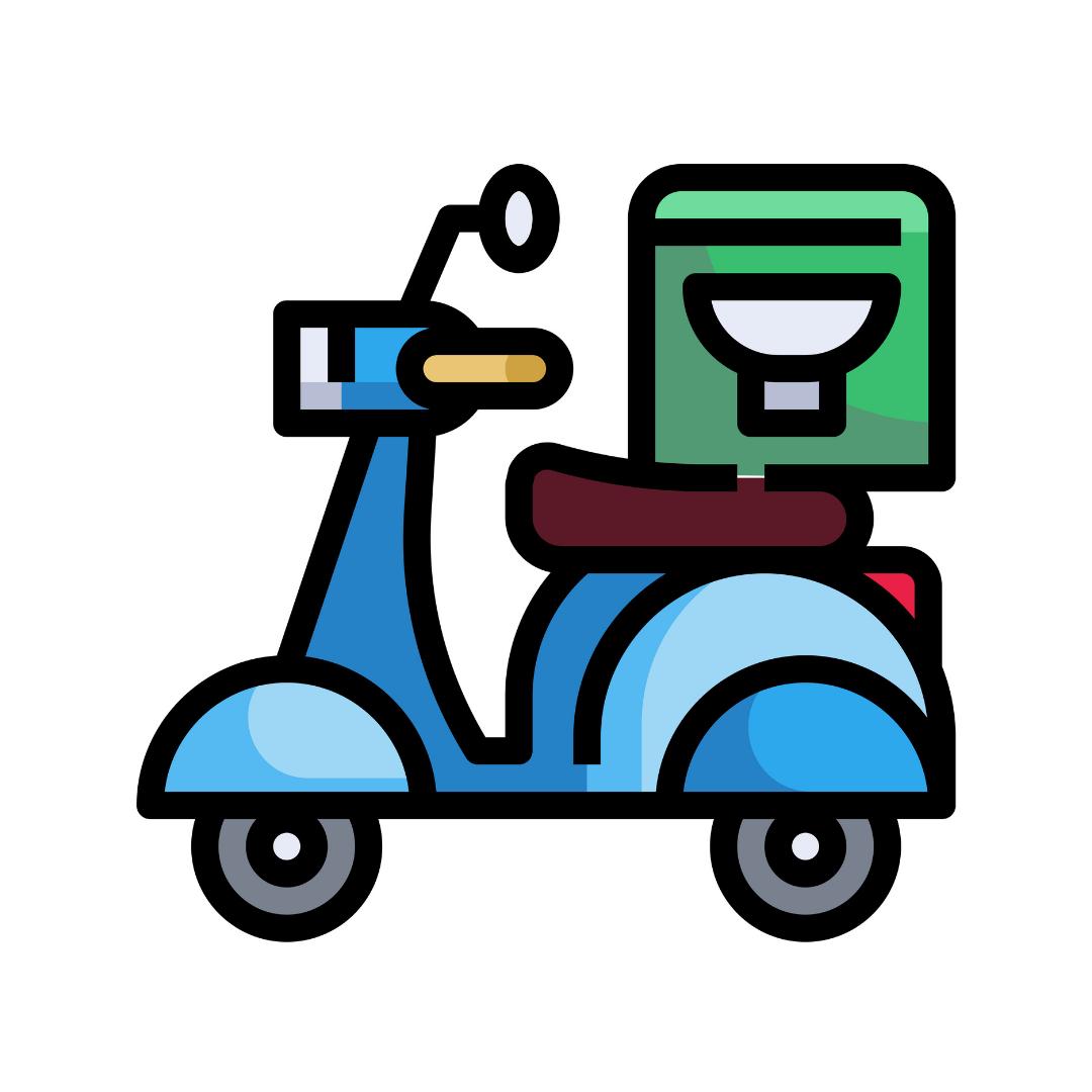バイクに変更 ウーバーイーツ