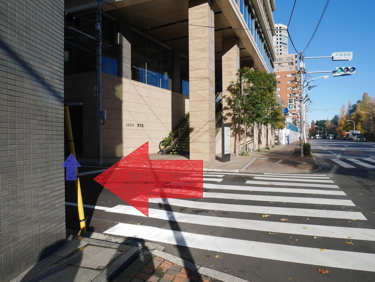 結婚式場  LUCIS(ルーキス)東天紅上野本店 エレベーター位置ご案内図