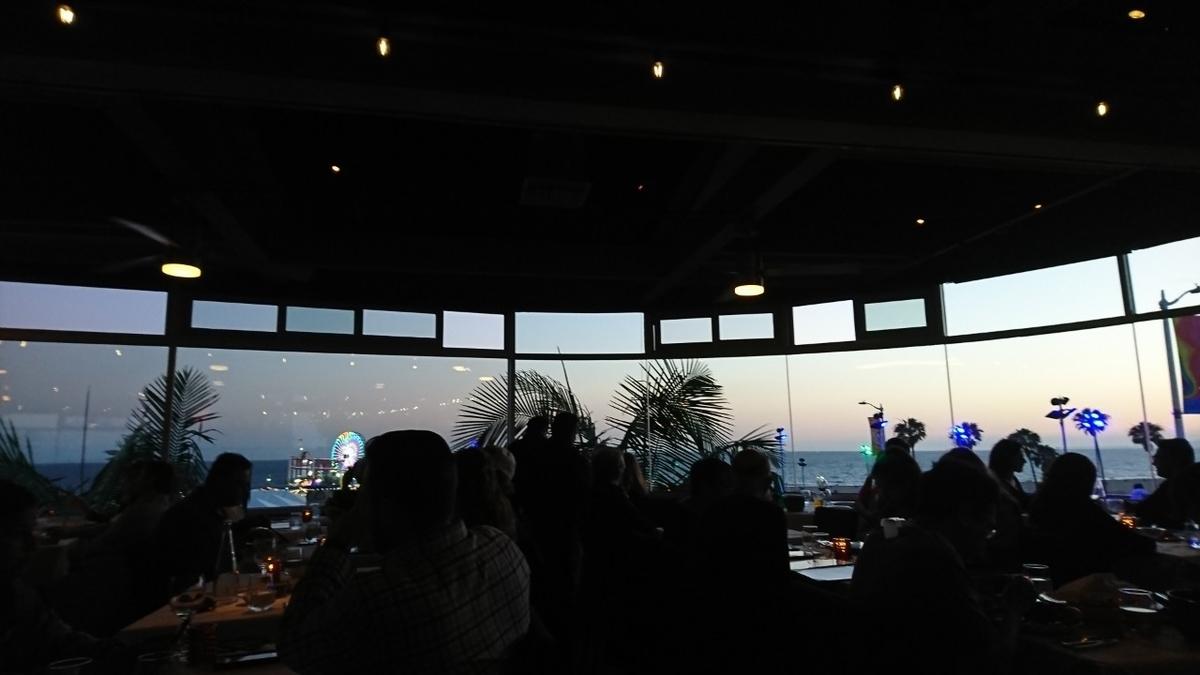 アメリカ サンタモニカ SantaMonica おすすめ 人気 レストラン ロブスター 景色 ロケーション