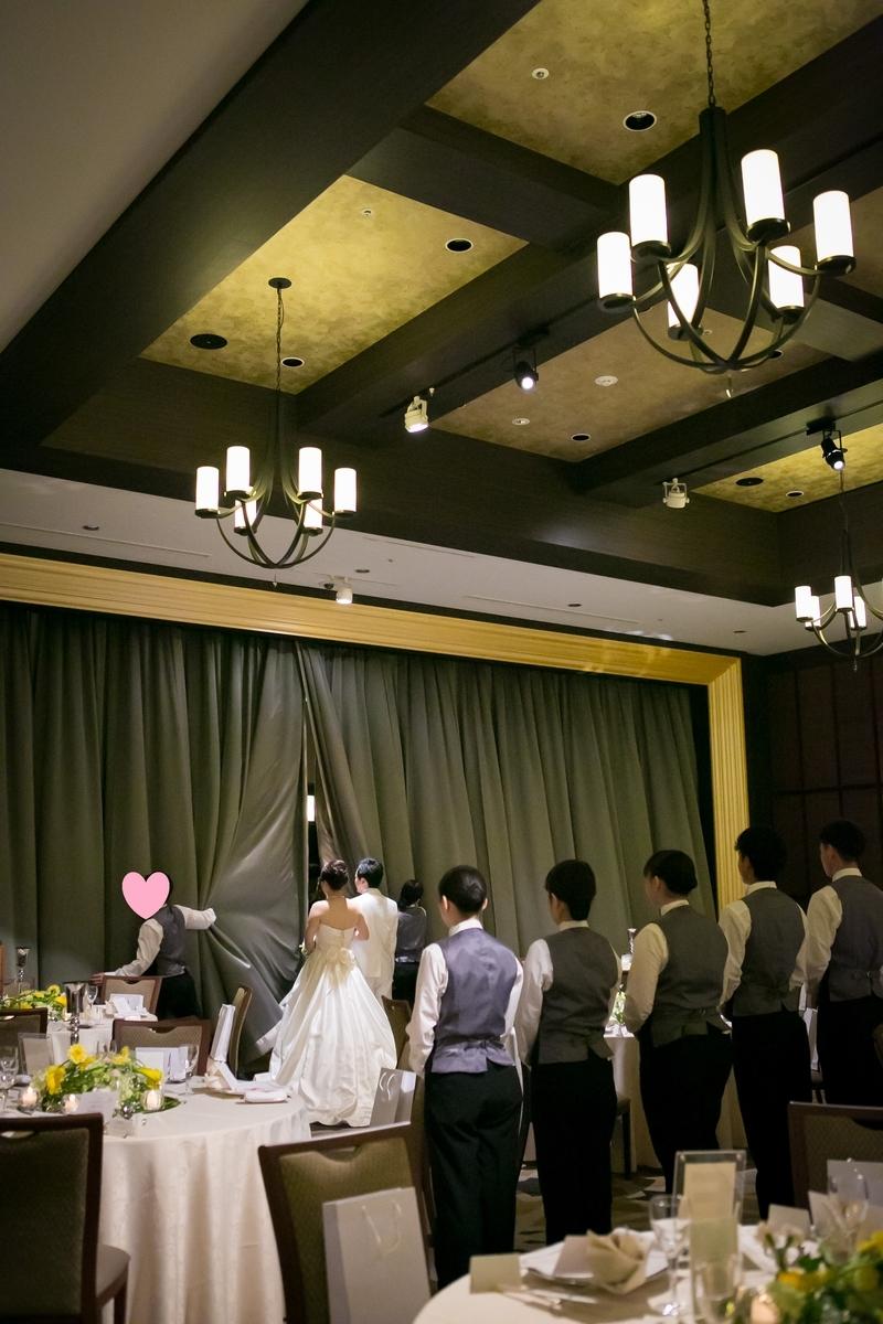 結婚式 披露宴 演出 おすすめ サプライズ登場 カーテンオープン ルーキス 東天紅