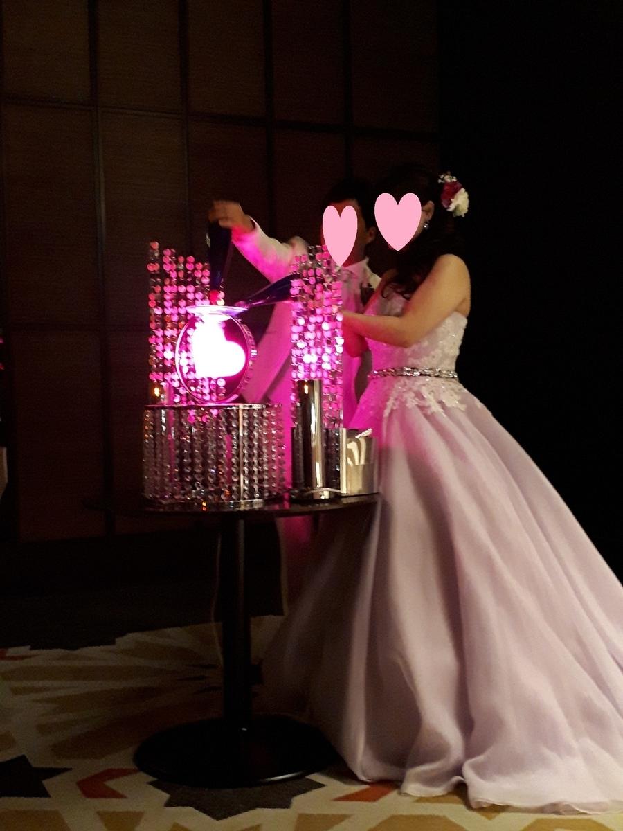 結婚式 披露宴 演出 おすすめ フェアリー・イリュージョン エイムメインタイプ ピンク