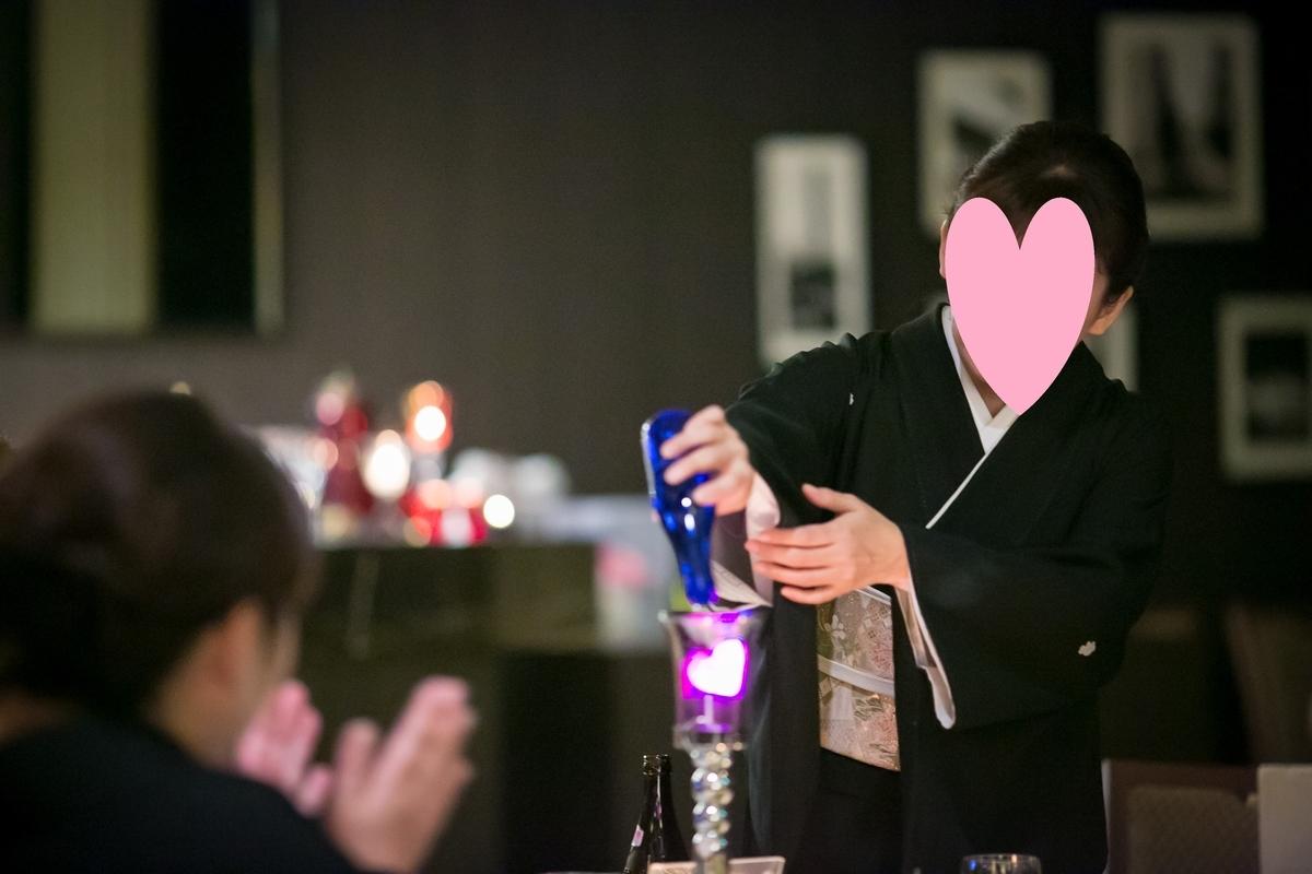 結婚式 披露宴 演出 おすすめ フェアリー・イリュージョン AUBE エイム テーブルタイプ ゲストテーブルリレー