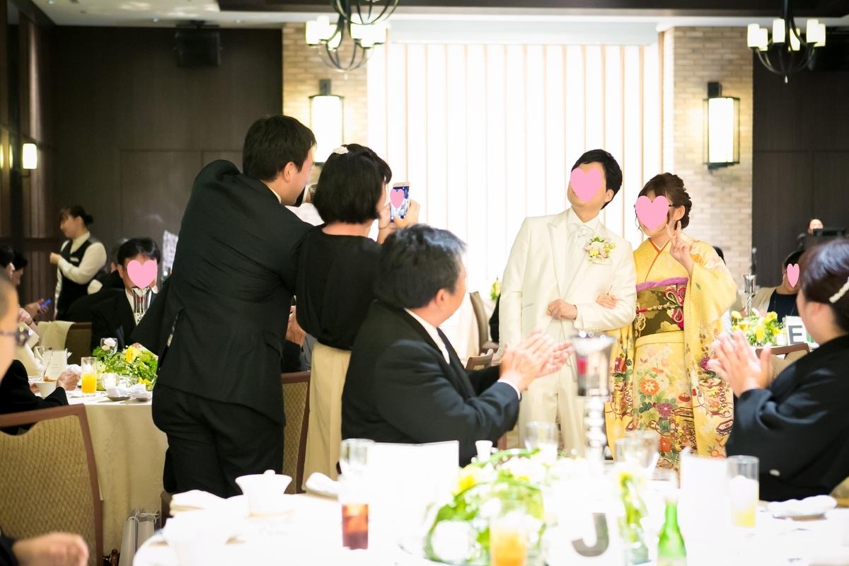 結婚式 披露宴 中座時演出 おすすめ 新郎中座 新婦中座