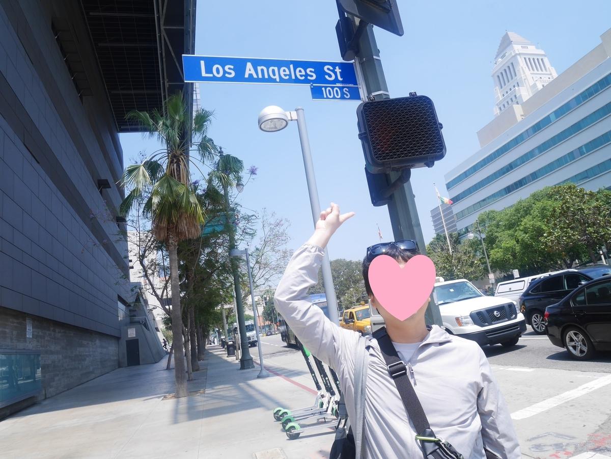アメリカ ロサンゼルス ストリート 街中風景 海外旅行 Uber Lyft