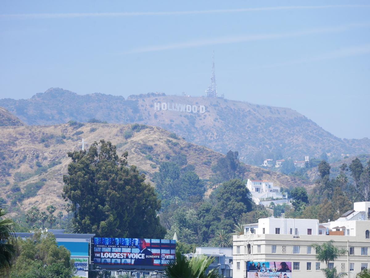 アメリカ ロサンゼルス ハリウッド ハリウッドサイン Los Angels  Holly Wood