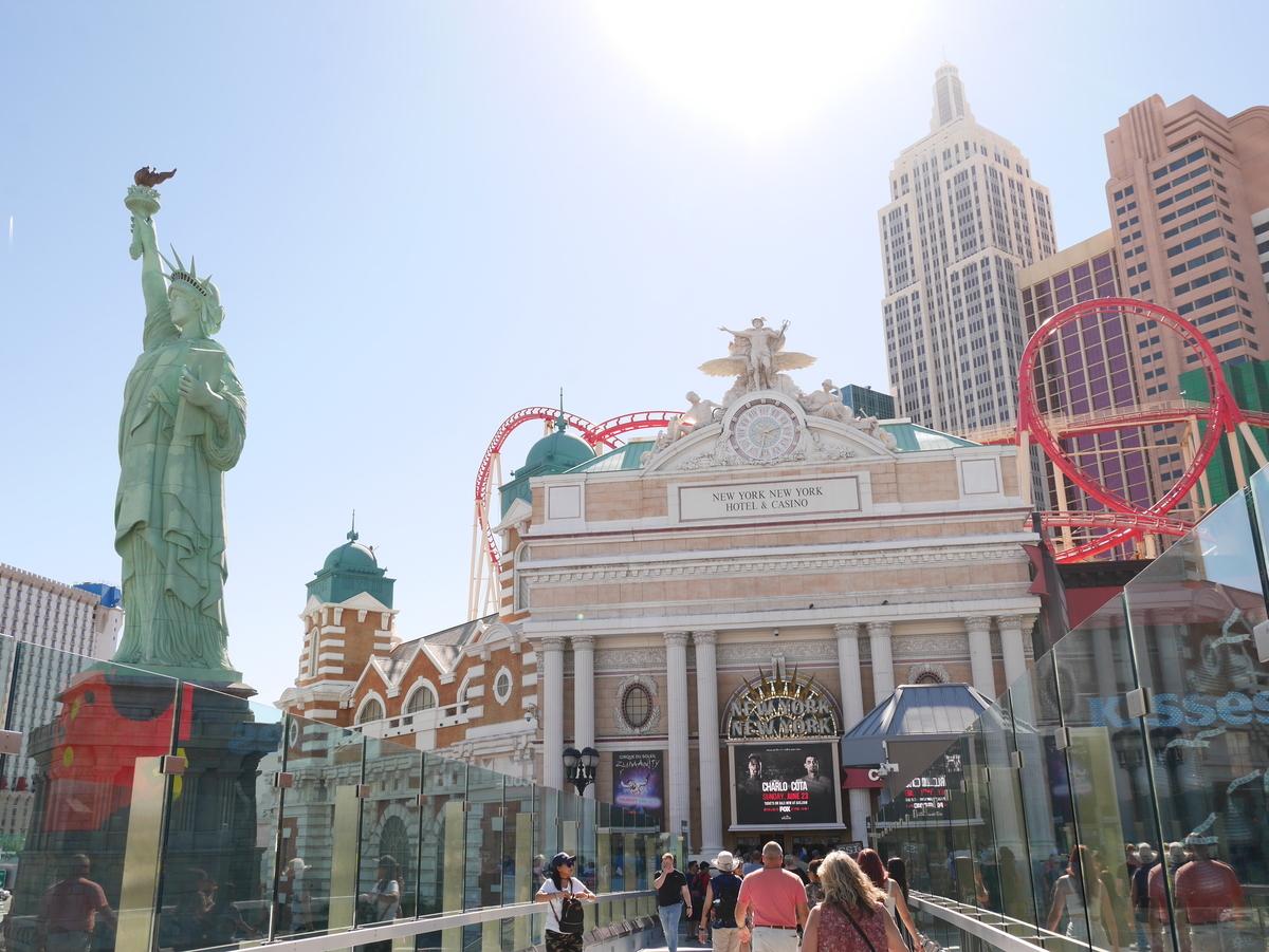 アメリカ ラスベガス ストリップ通り ホテル ニューヨーク・ニューヨーク 自由の女神