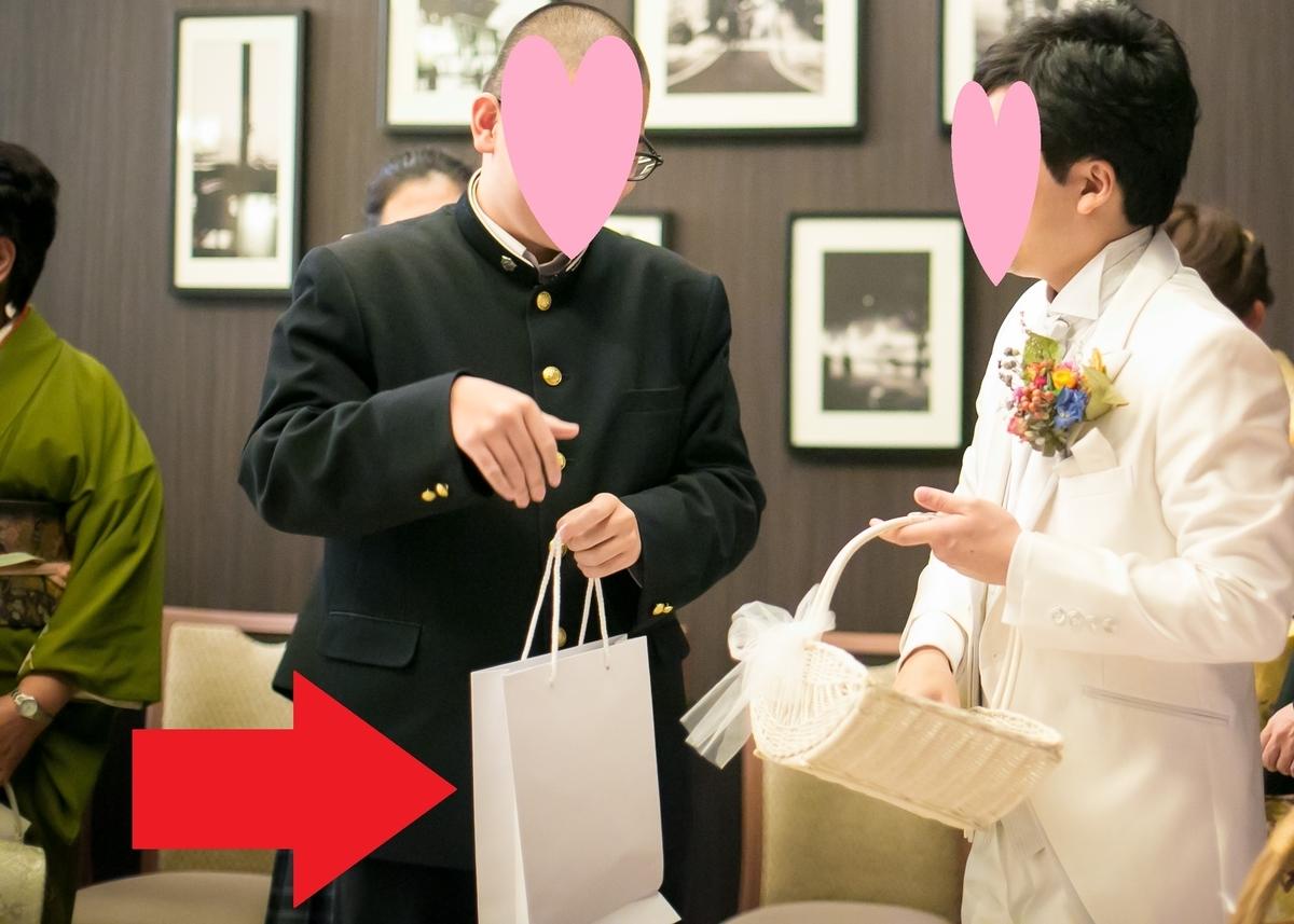 結婚式 披露宴 シモジマ 紙袋 ホワイト PP A4サイズ