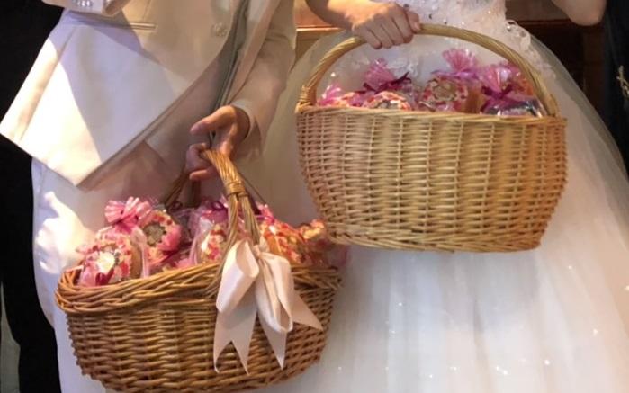結婚式 2次会 おすすめ プチギフト 焼きドーナツ 足立区 マリオネット洋菓子店 パセラリゾーツ