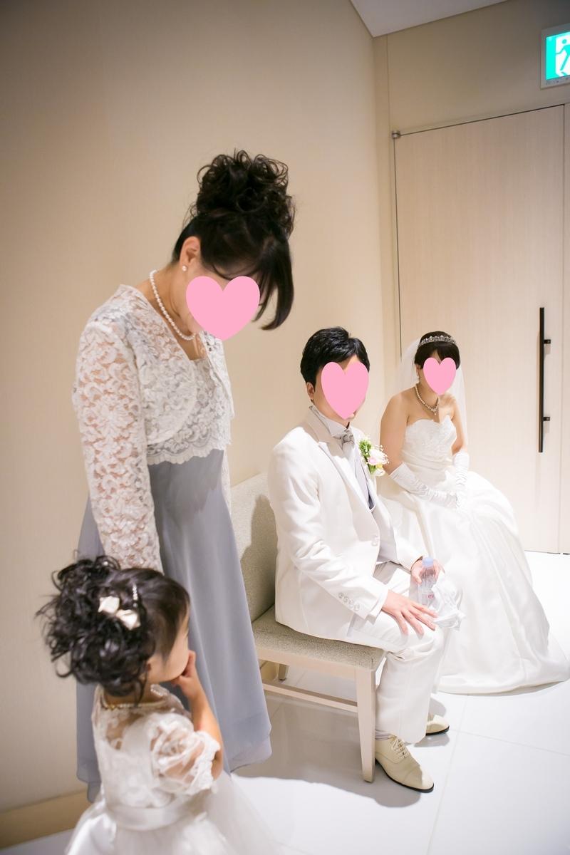 結婚式 挙式 待機 タイムスケジュール 新郎 新婦 エスコート