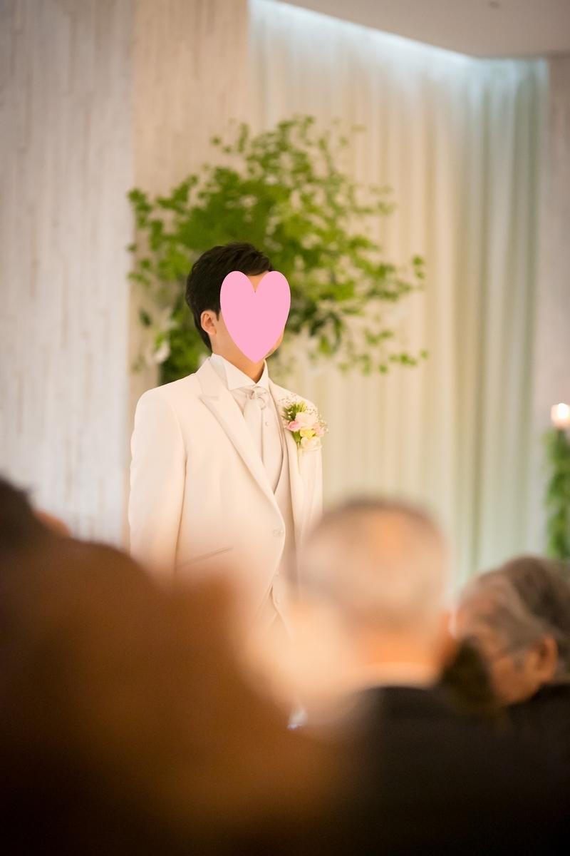 結婚式 挙式 新郎入場 ルーキス 東天紅