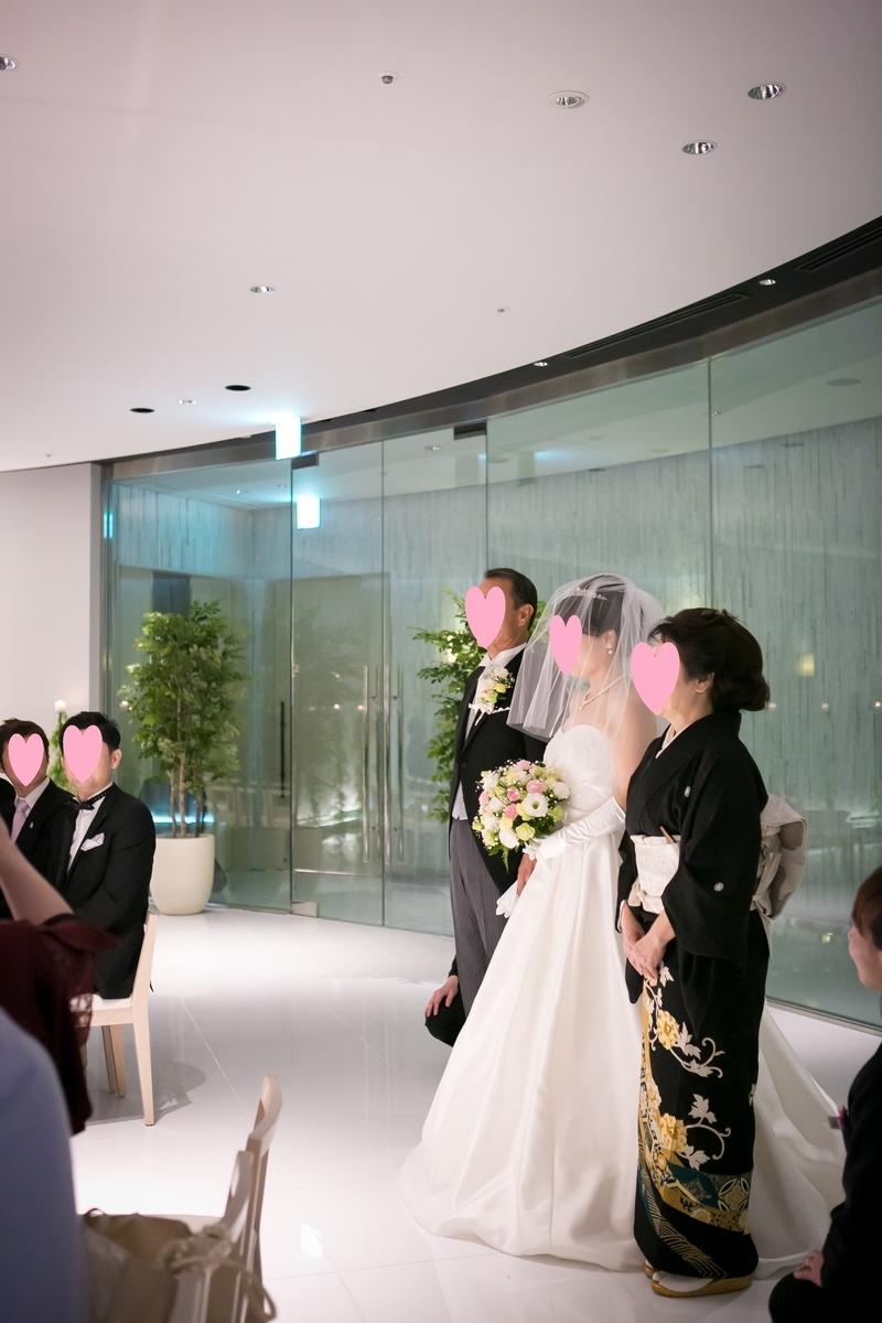 結婚式 挙式 新婦入場 新郎挨拶 ルーキス 東天紅