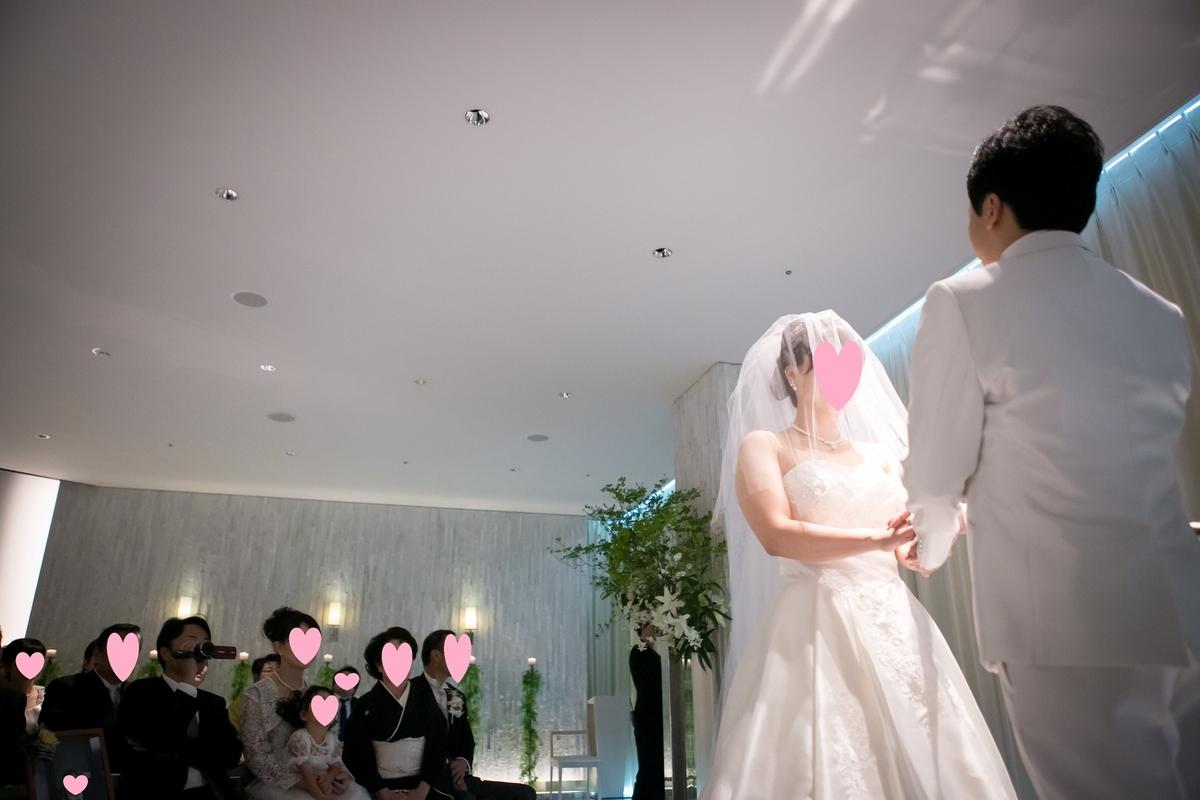結婚式 挙式 チャペル 誓約 ルーキス 東天紅