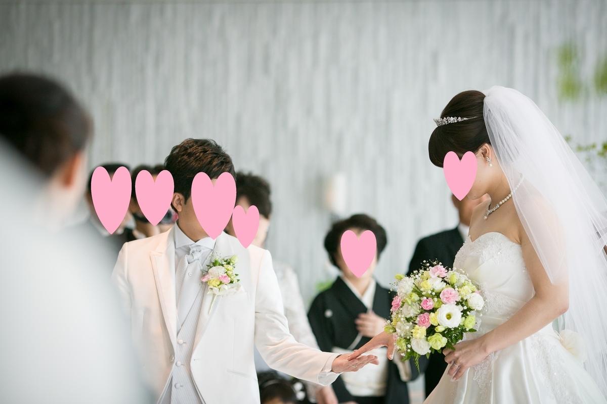 結婚式 挙式 チャペル 新郎新婦退場 ルーキス 東天紅
