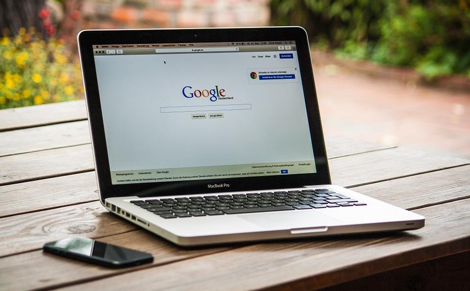 google検索 パソコン 画面
