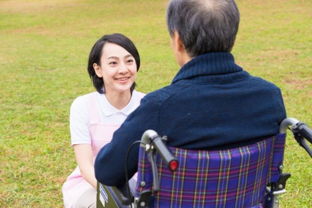 介護現場での会話