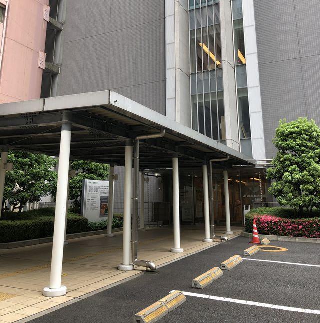 JR東京総合病院エントランス
