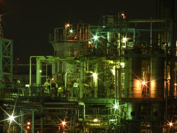 京浜工業地帯 京浜工業地帯 20070304 個別「[夜景]京浜工業地帯」の写真、画像、動画