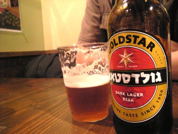 イスラエルビール ゴールドスター