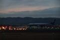 [夜景][空][飛行機]伊丹空港
