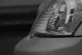 [車][モノクロ]ヘッドライト
