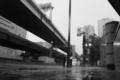 [モノクロ]雨