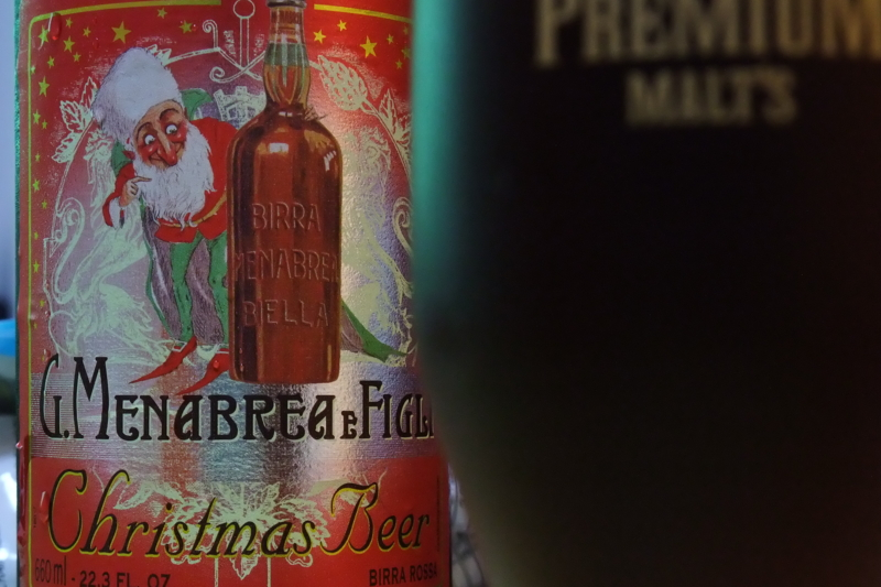 MENABREA Christmas Beer