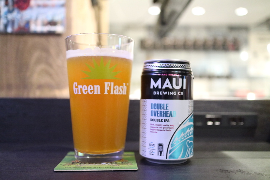 MAUI BREWING  DOUBLE OVERHEAD