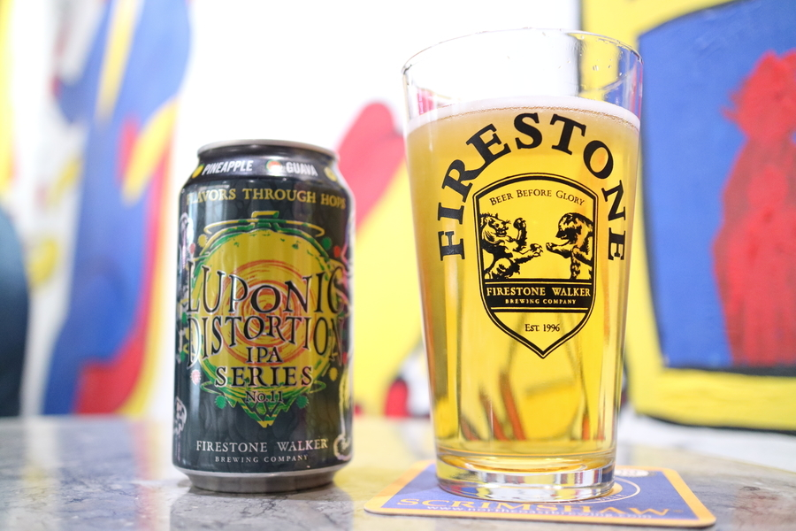FIRESTONE WALKER  Luponic Distortion Revolution No.011