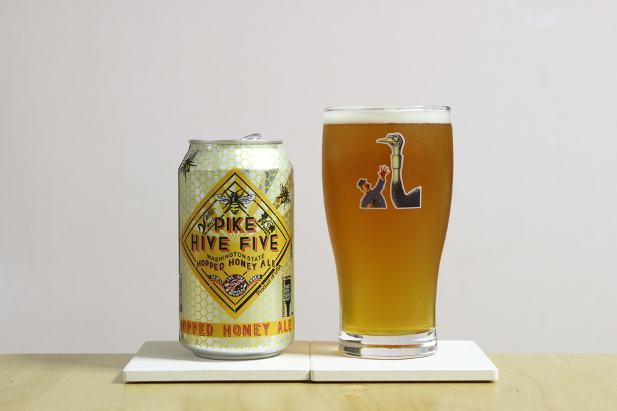 Pike Brewing PIKE HIVE FIVE Hopped honey ale