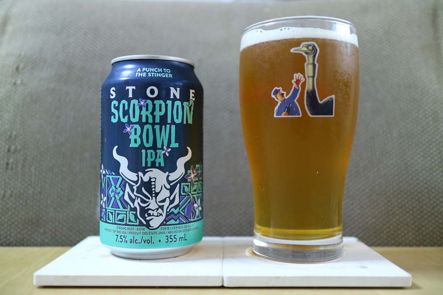 STONE BREEWING SCORPION BOWL IPA