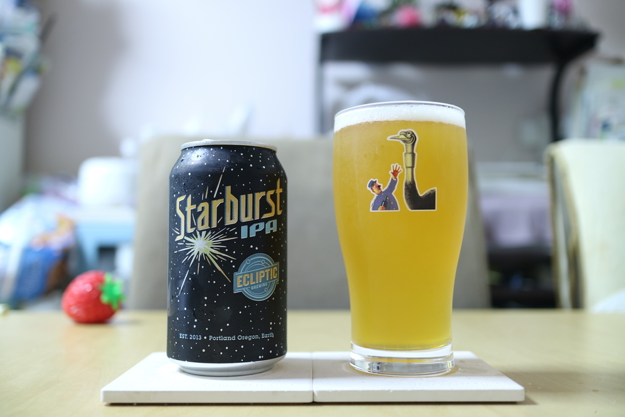 ECLIPTIC BREWING Starburst IPA