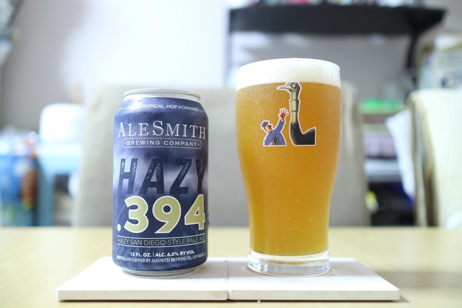 ALESMITH BREWING HAZY.394