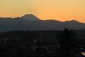 [夕焼け]富士山