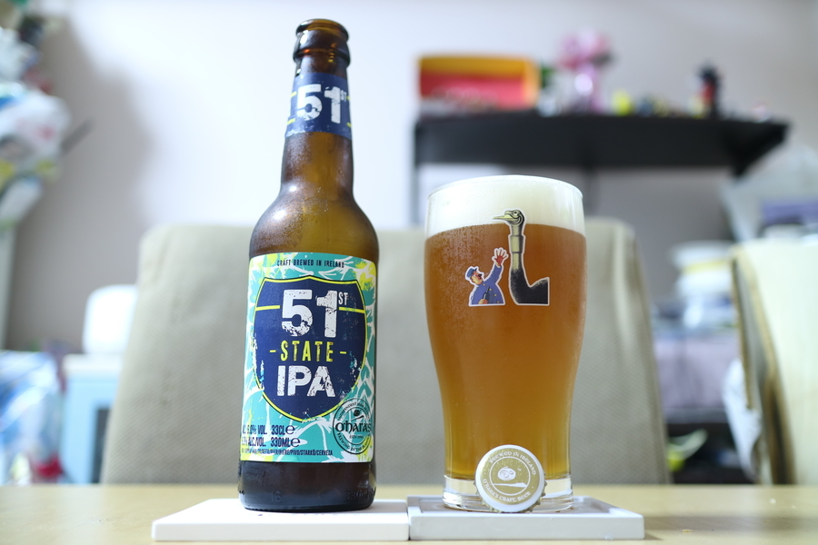 Carlow Brewing Oharas 51st State IPA