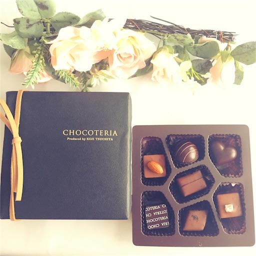 ショコテリアショコラの箱とアソート中身