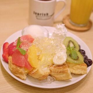 アイボリッシュ渋谷店限定メニューレインボー