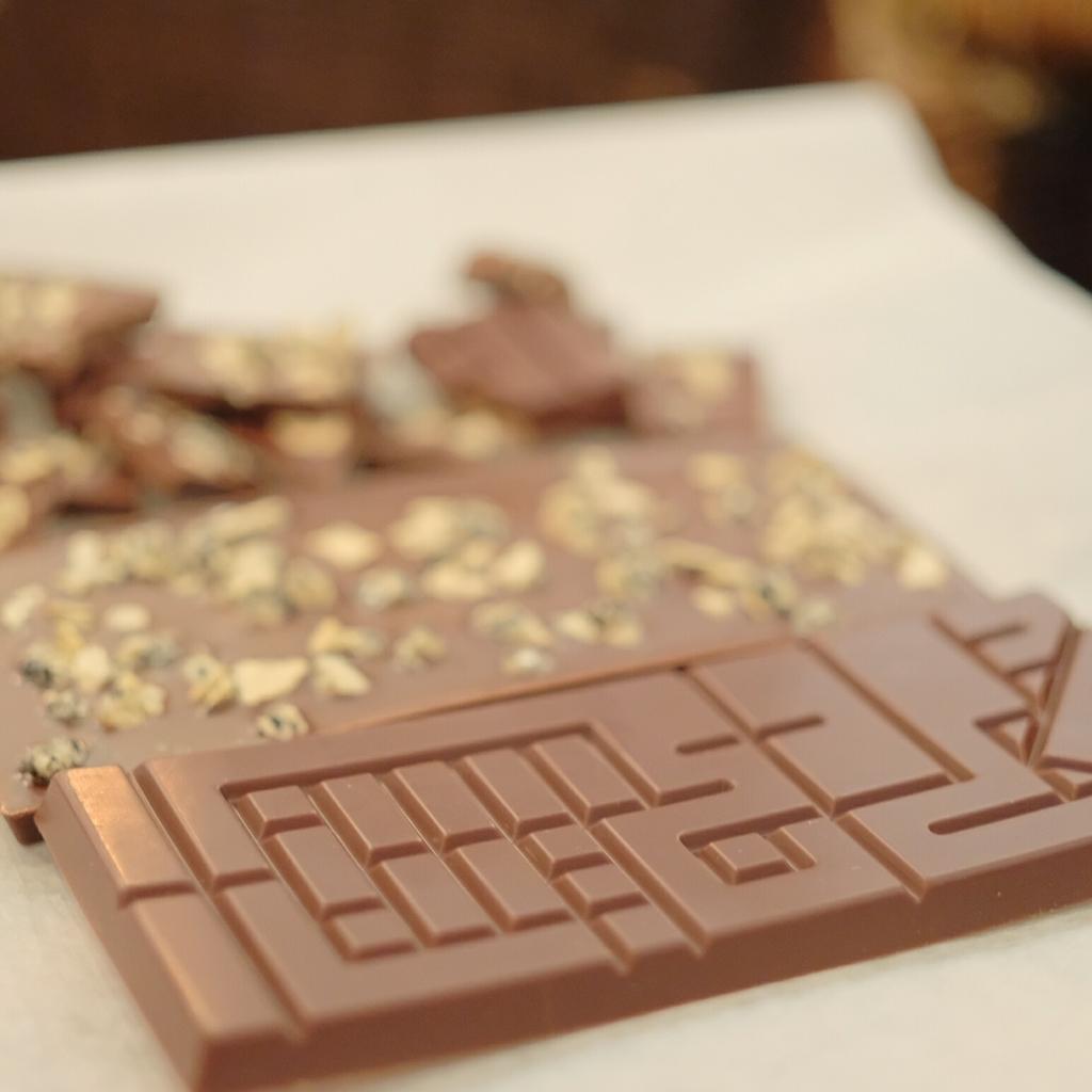 ナンブタブレットのチョコレートデザイン